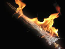 espada fogo