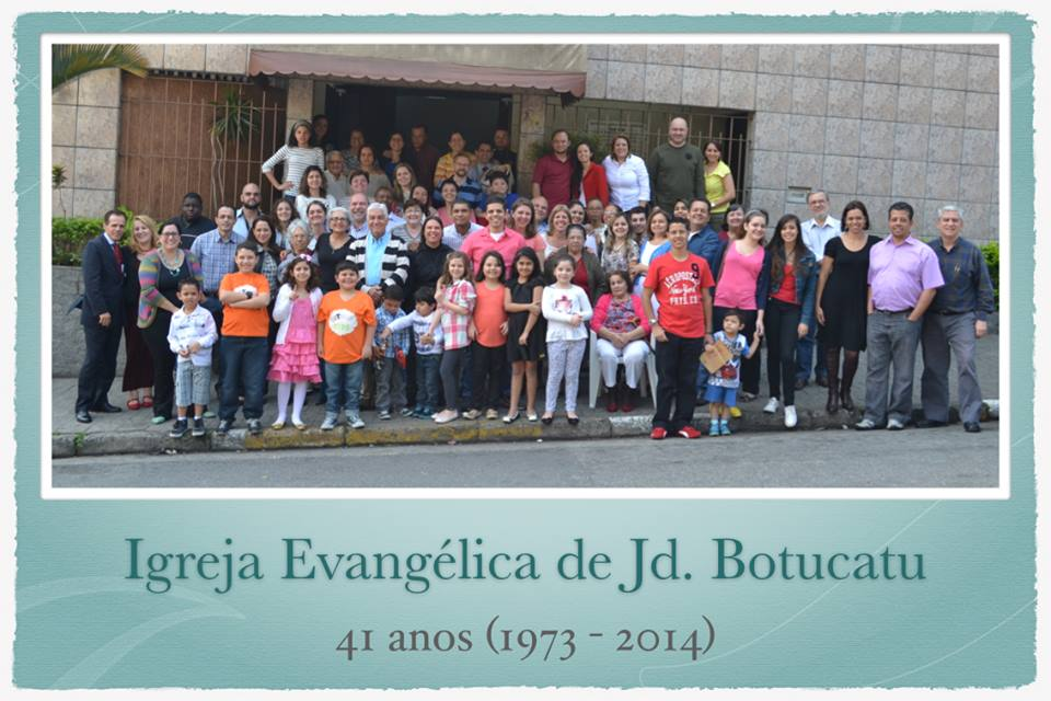 Igreja Botucatu - 41 anos